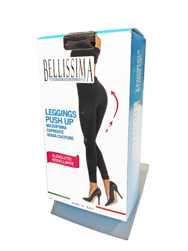 Leggings donna Push up coprente modellante alzaglutei Marca Bellissima